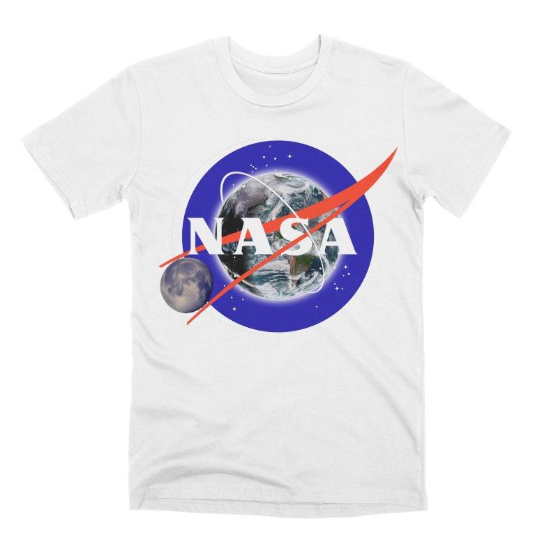 New NASA logo Men's T-Shirt by New NASA logo
