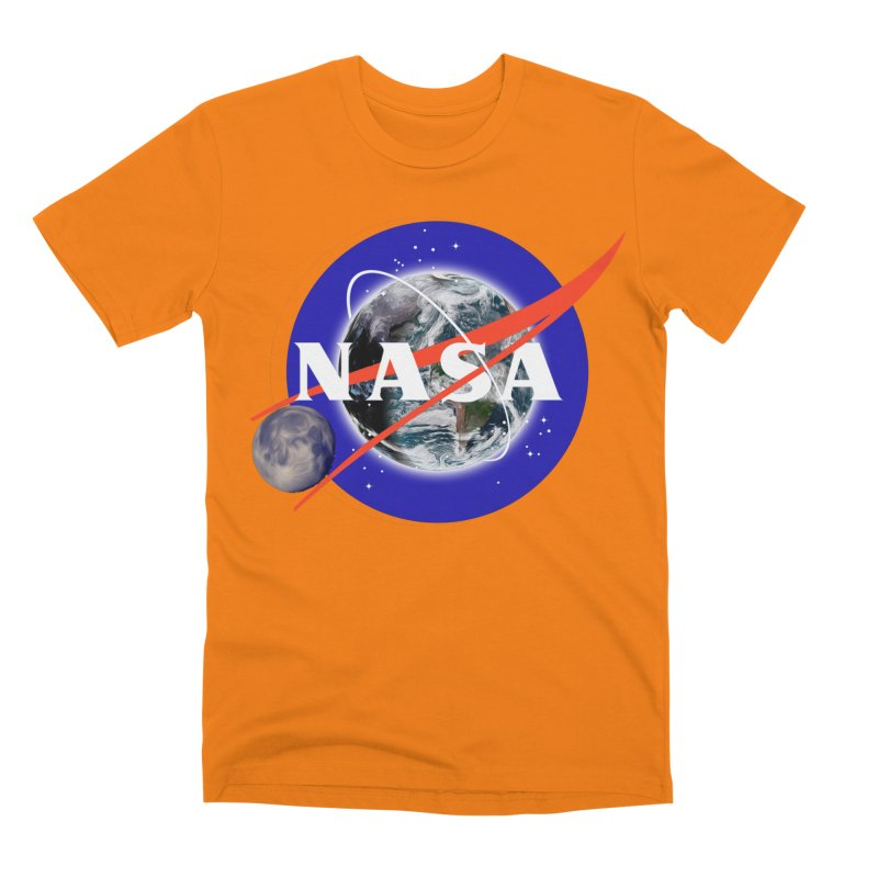 New NASA logo Men's T-Shirt by New NASA logo