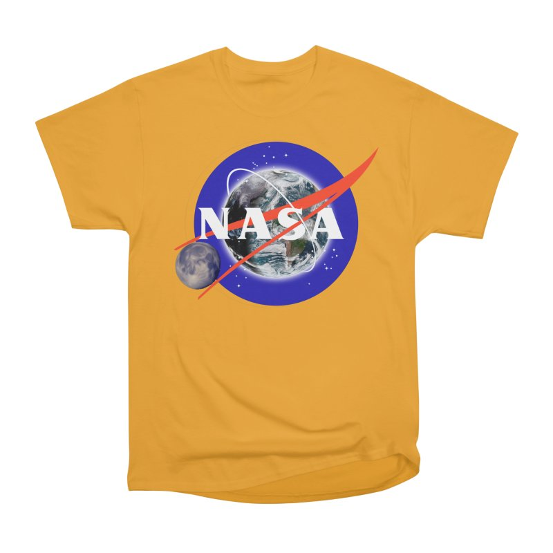 New NASA logo Women's Heavyweight Unisex T-Shirt by New NASA logo
