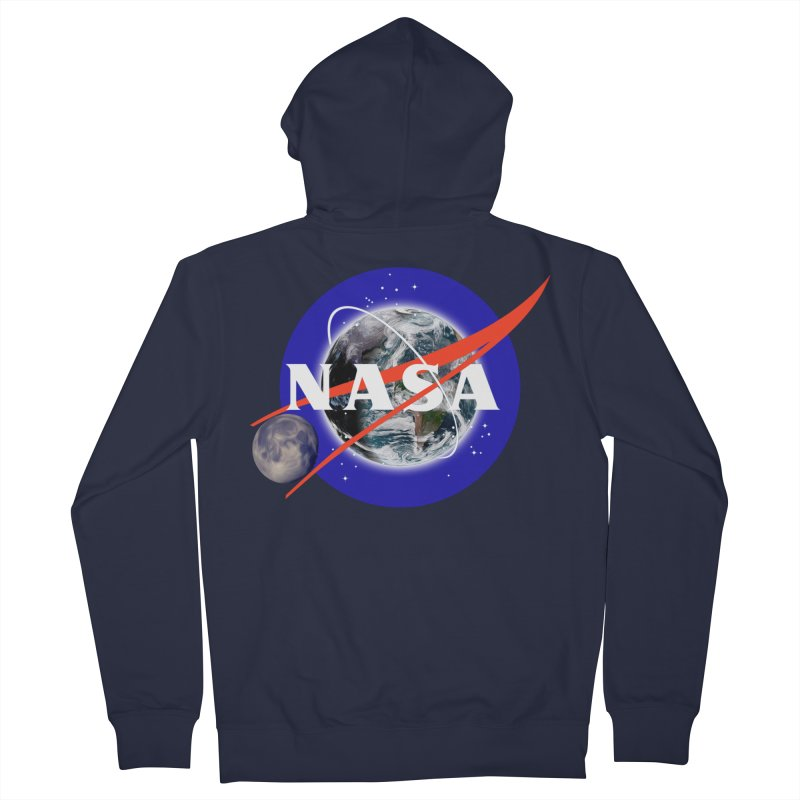 New NASA logo Women's French Terry Zip-Up Hoody by New NASA logo