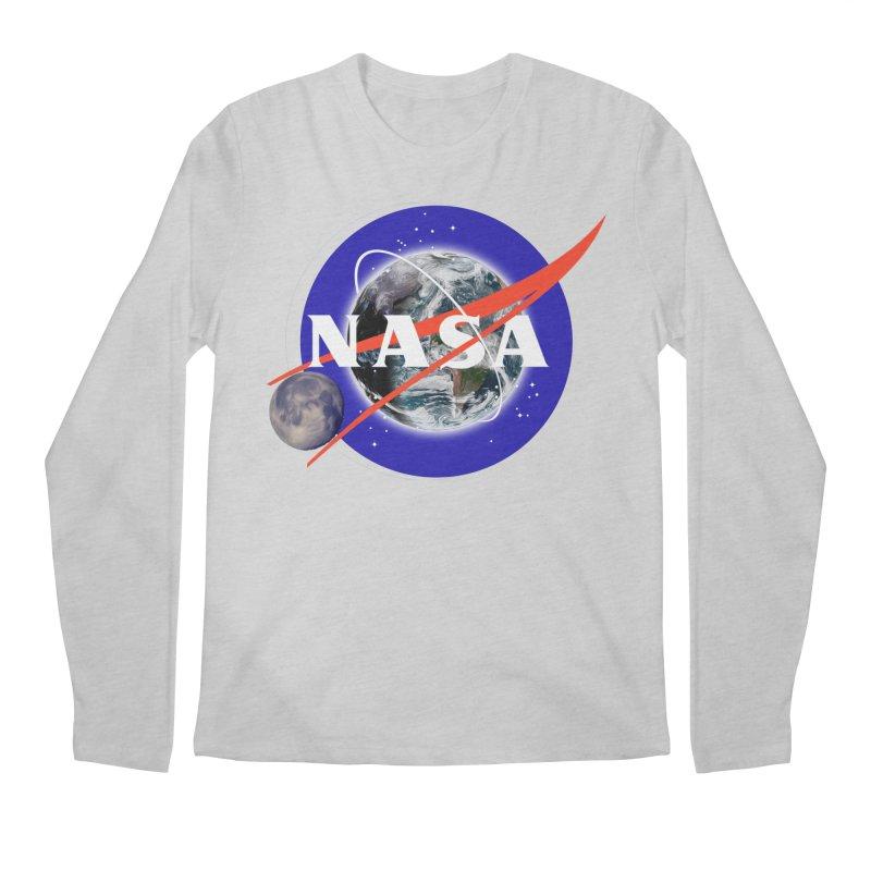 New NASA logo Men's Regular Longsleeve T-Shirt by New NASA logo