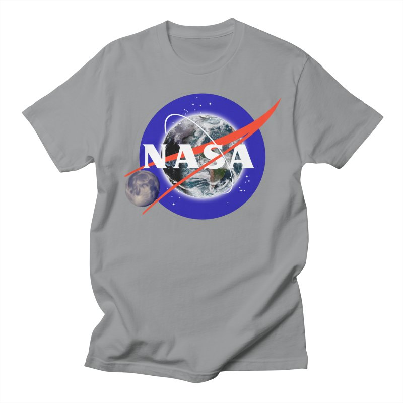 New NASA logo Men's Regular T-Shirt by New NASA logo