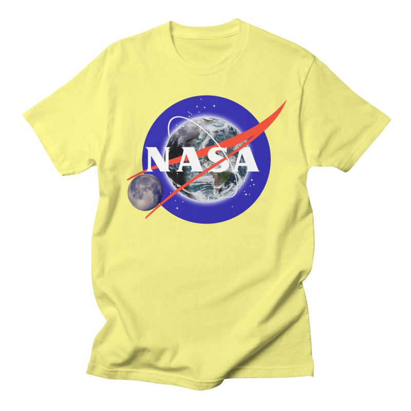 New NASA logo Men's Regular T-Shirt by New NASA logo