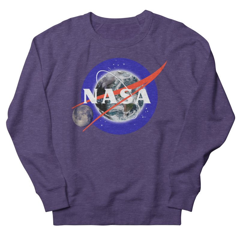 New NASA logo Men's French Terry Sweatshirt by New NASA logo