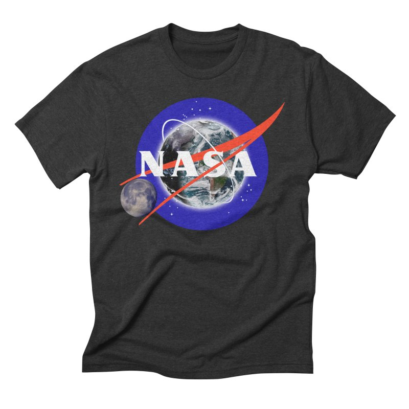 New NASA logo Men's Triblend T-Shirt by New NASA logo