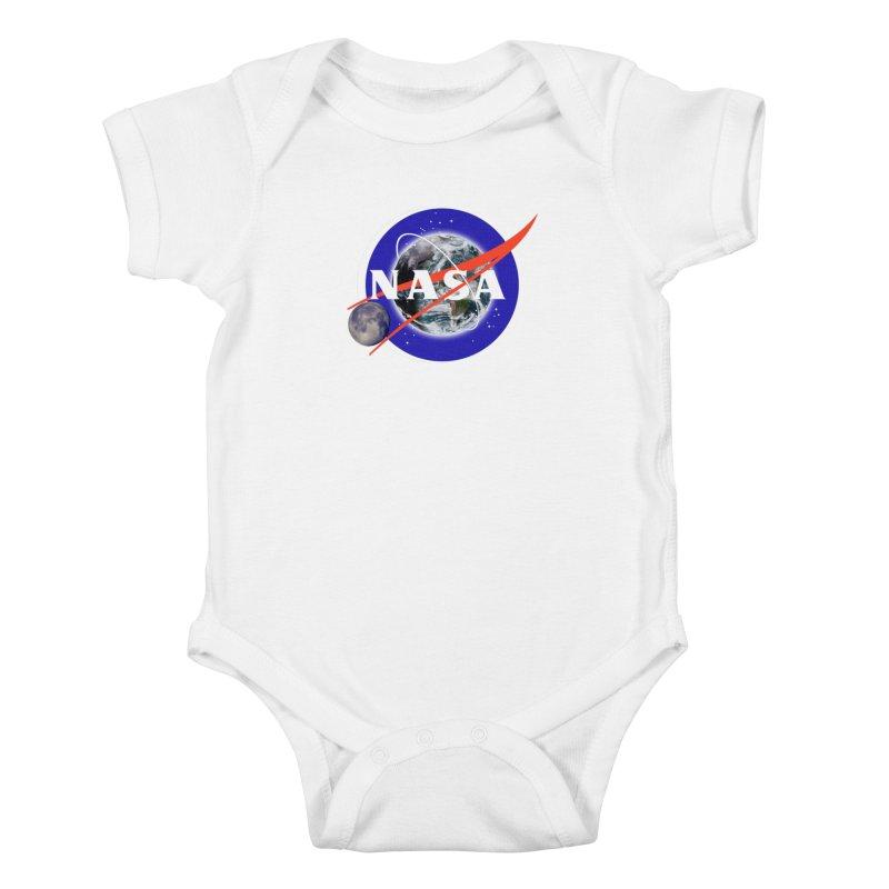 New NASA logo Kids Baby Bodysuit by New NASA logo