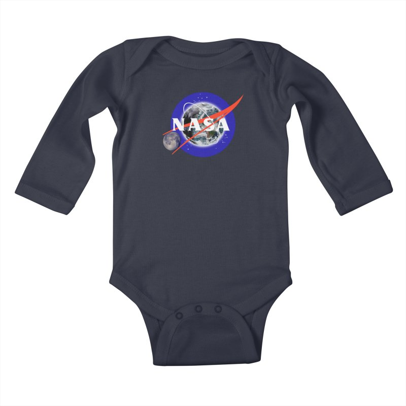 New NASA logo Kids Baby Longsleeve Bodysuit by New NASA logo