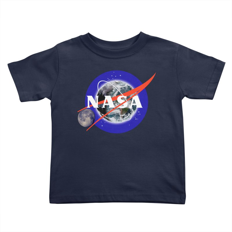 New NASA logo Kids Toddler T-Shirt by New NASA logo