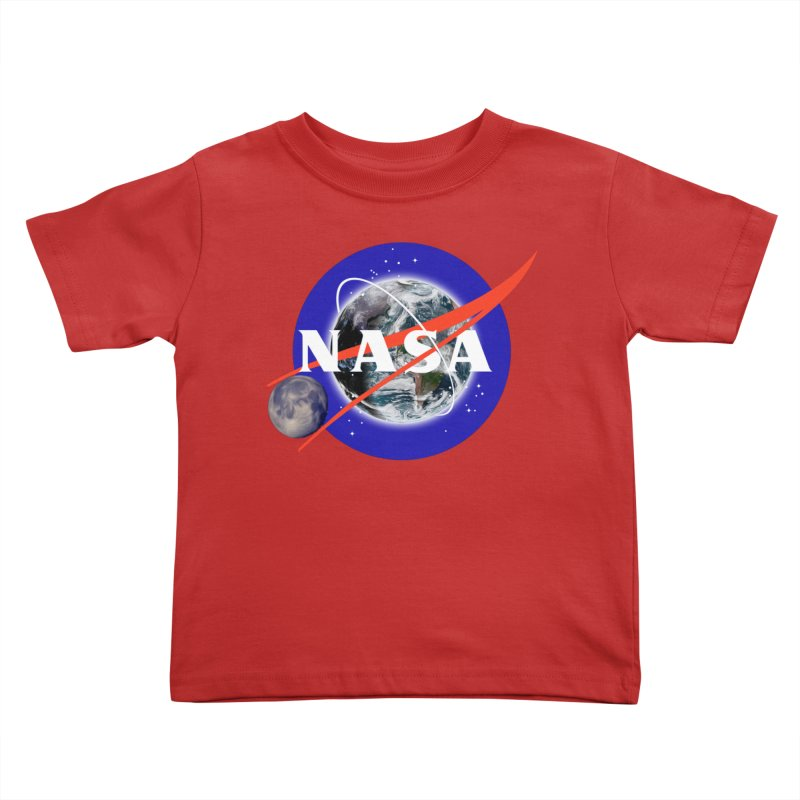 New NASA logo Kids Toddler T-Shirt by New NASA logo