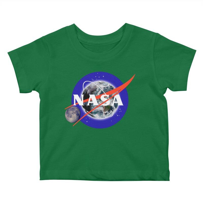 New NASA logo Kids Baby T-Shirt by New NASA logo
