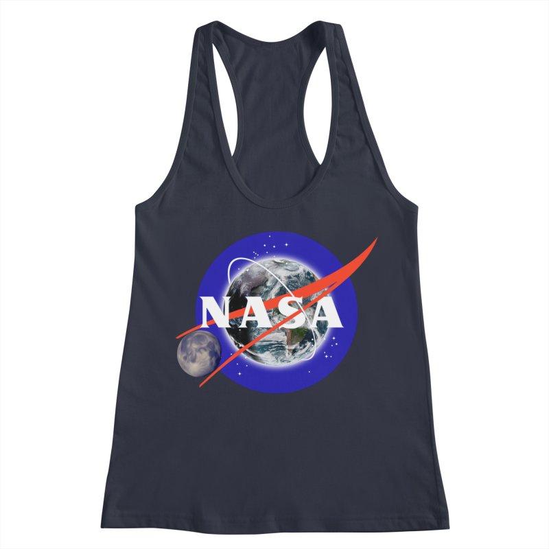 New NASA logo Women's Racerback Tank by New NASA logo