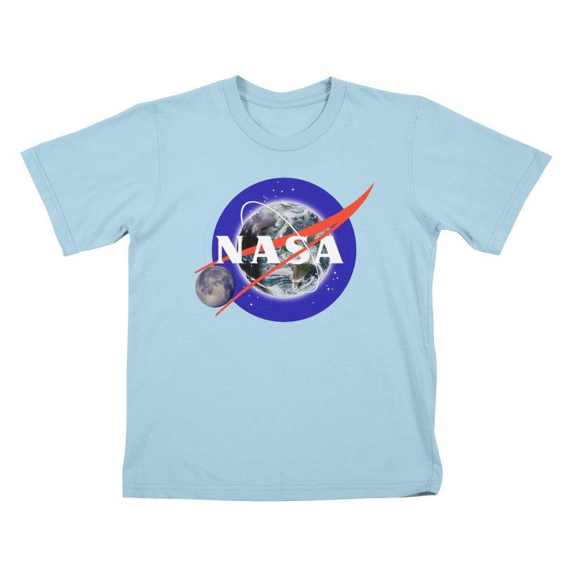 New NASA logo Kids T-Shirt by New NASA logo