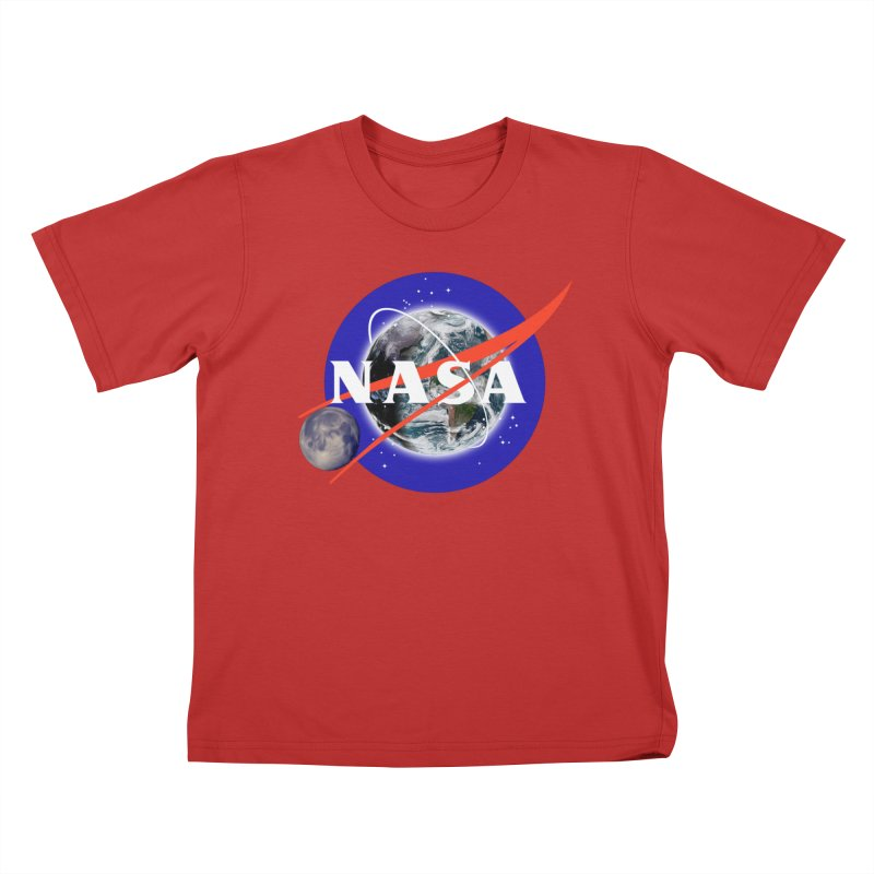New NASA logo Kids T-Shirt by New NASA logo