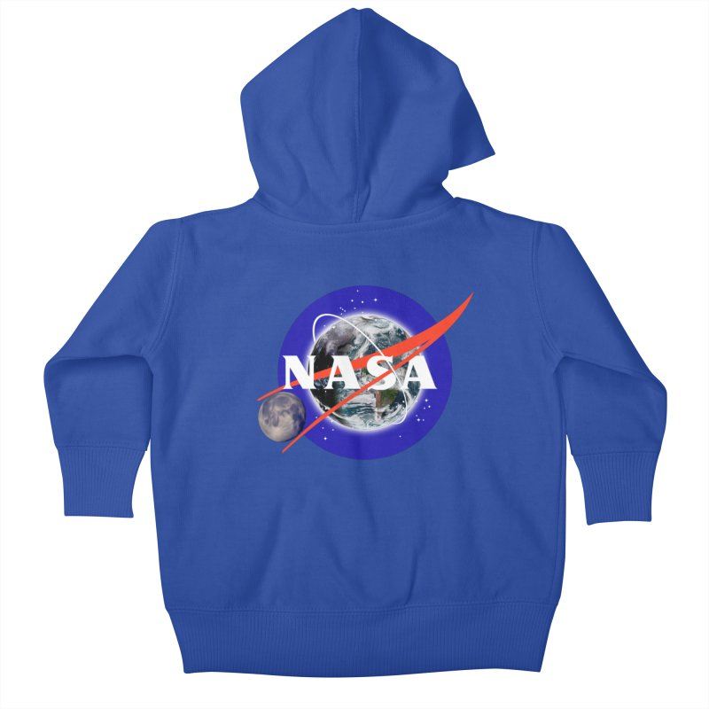 New NASA logo Kids Baby Zip-Up Hoody by New NASA logo