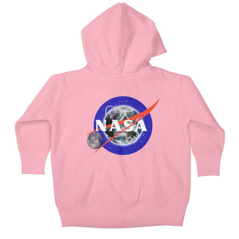 New NASA logo Kids Baby Zip-Up Hoody by New NASA logo