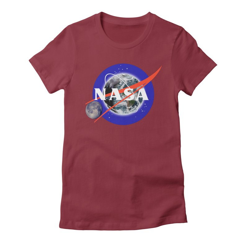 New NASA logo Women's Fitted T-Shirt by New NASA logo
