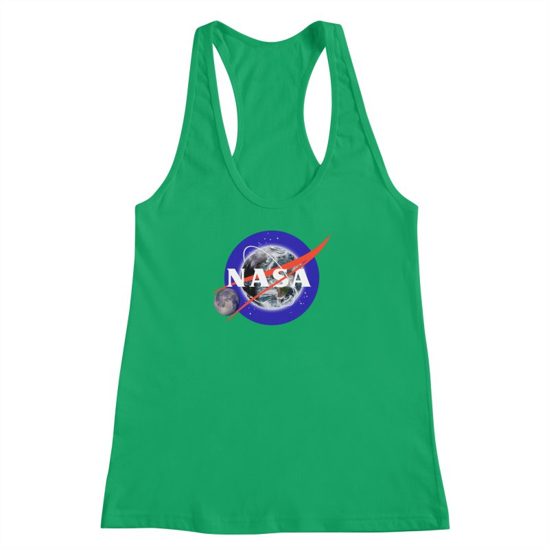 New NASA logo Women's Racerback Tank by New NASA logo