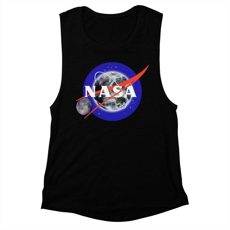 New NASA logo Women's Muscle Tank by New NASA logo