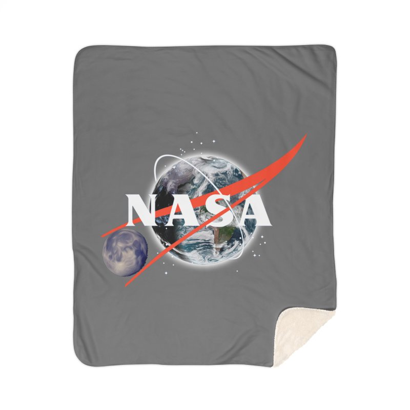 New NASA logo Home Blanket by New NASA logo