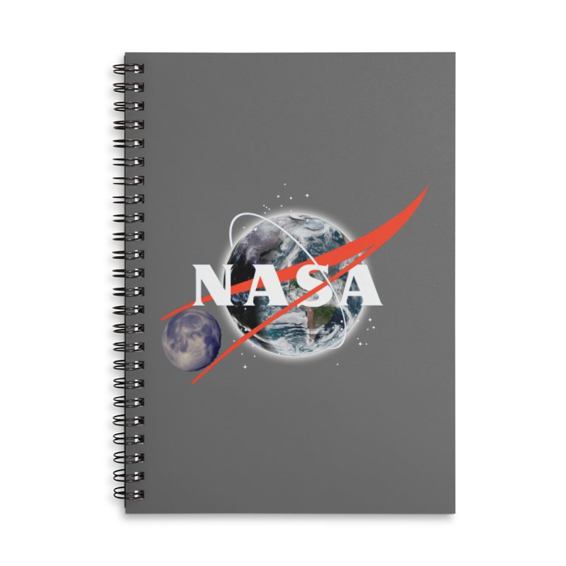 New NASA logo Accessories Lined Spiral Notebook by New NASA logo