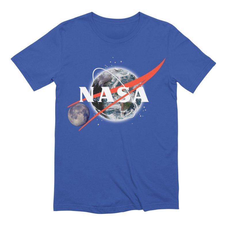 New NASA logo Men's Extra Soft T-Shirt by New NASA logo