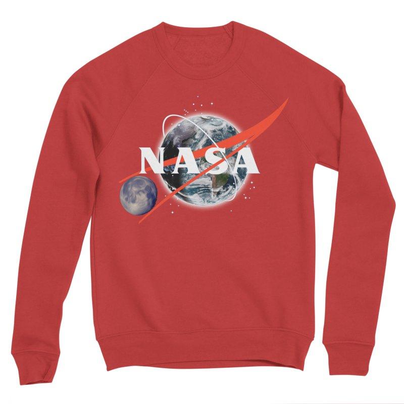 New NASA logo Men's Sponge Fleece Sweatshirt by New NASA logo