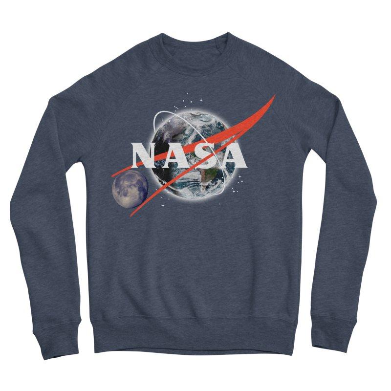New NASA logo Women's Sponge Fleece Sweatshirt by New NASA logo