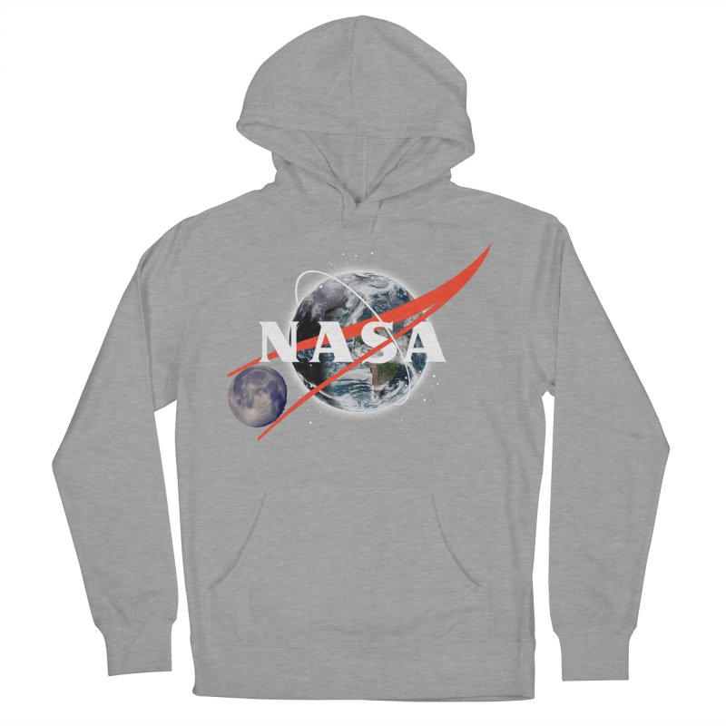 New NASA logo Women's French Terry Pullover Hoody by New NASA logo