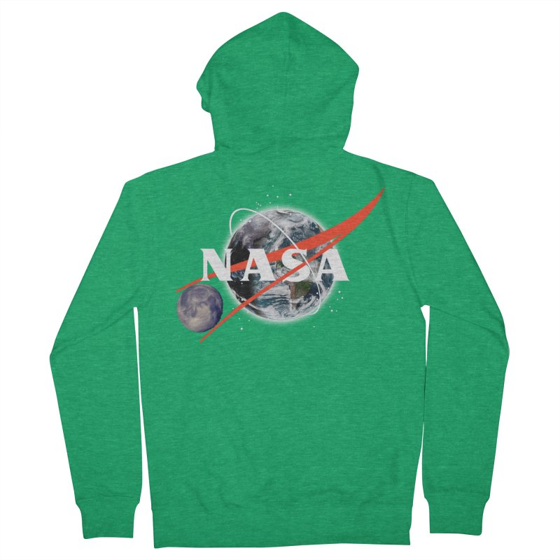 New NASA logo Men's Zip-Up Hoody by New NASA logo