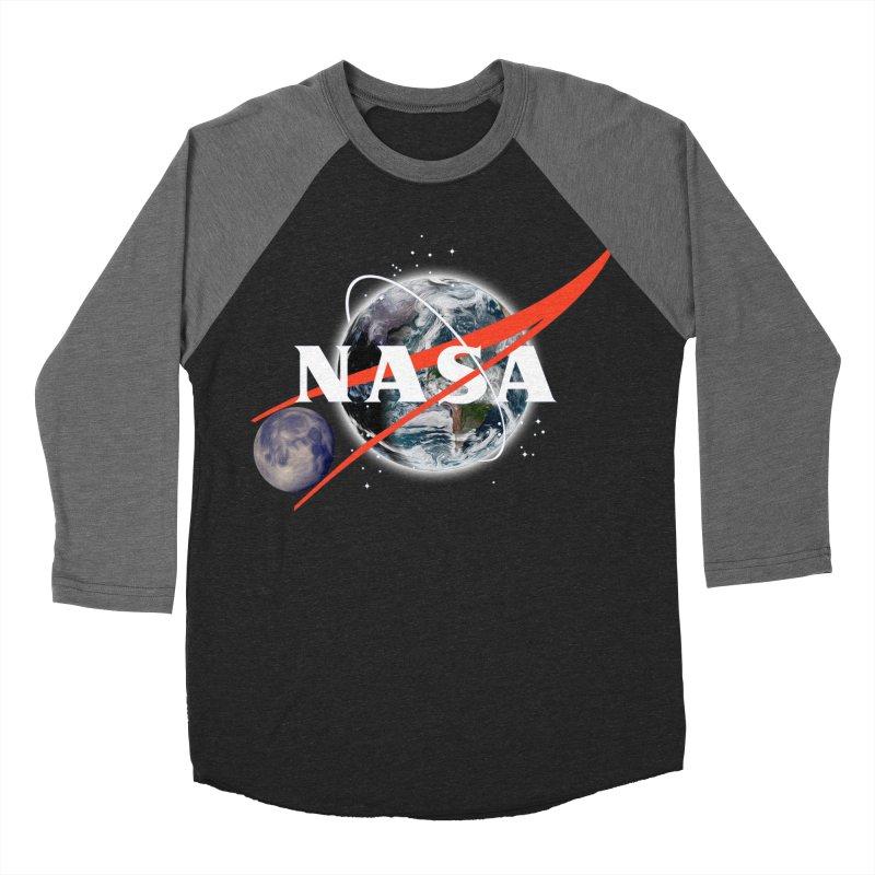 New NASA logo Women's Baseball Triblend Longsleeve T-Shirt by New NASA logo