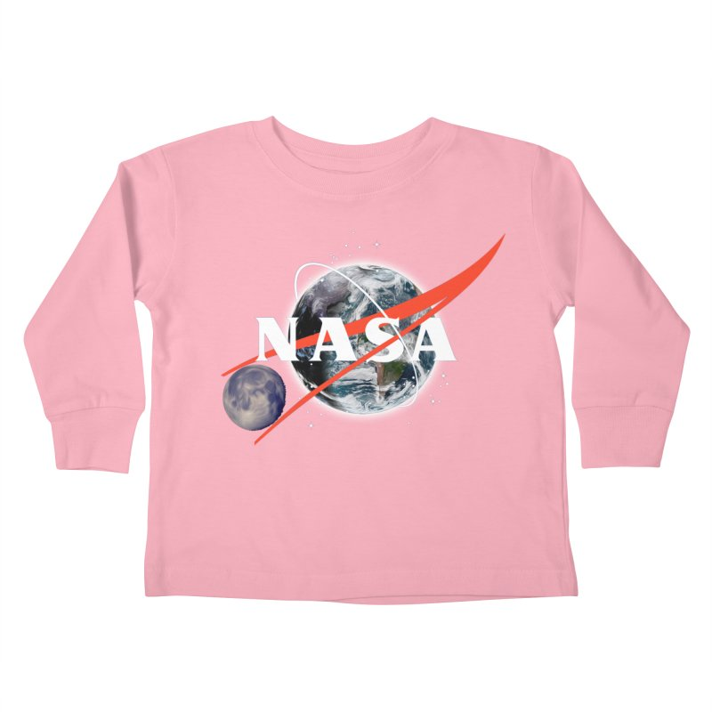 New NASA logo Kids Toddler Longsleeve T-Shirt by New NASA logo