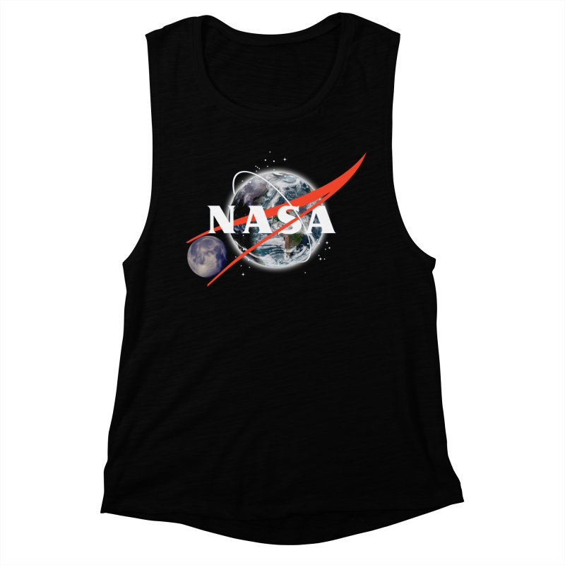 New NASA logo Women's Muscle Tank by New NASA logo
