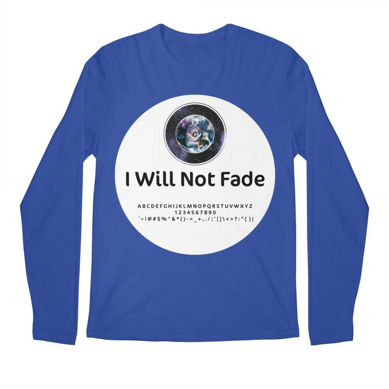 I Will Not Fade Men's Regular Longsleeve T-Shirt by AdventGuard