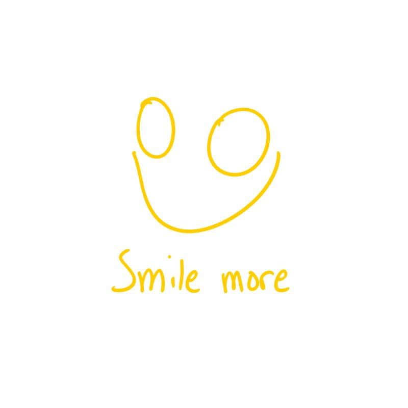 Smile more Women's Longsleeve T-Shirt by AdventGuard