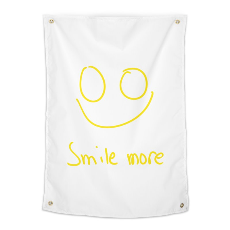 Smile more Home Tapestry by AdventGuard