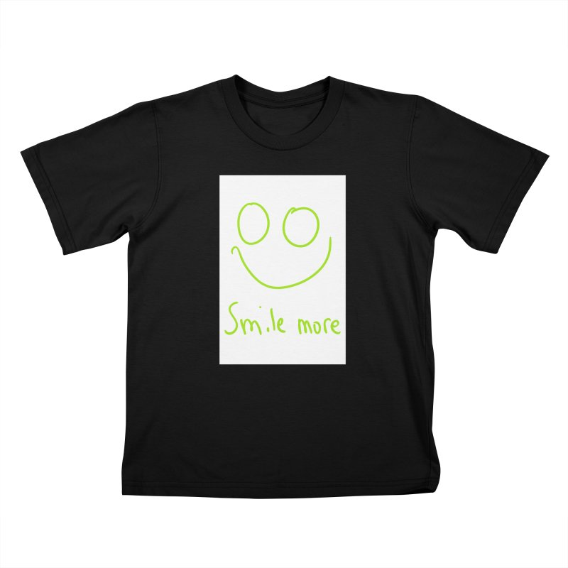Smile More Kids T-Shirt by AdventGuard