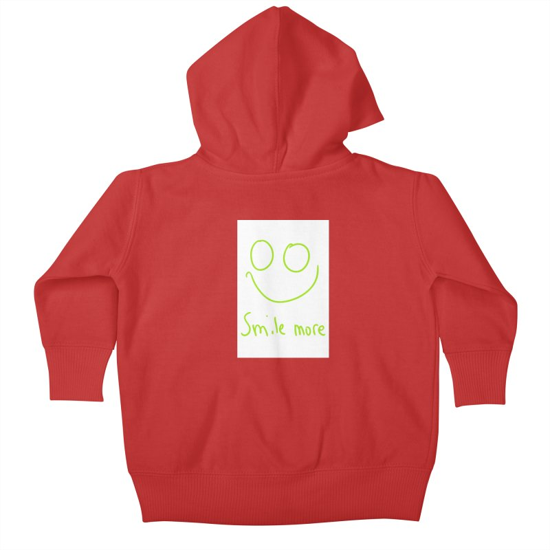 Smile More Kids Baby Zip-Up Hoody by AdventGuard