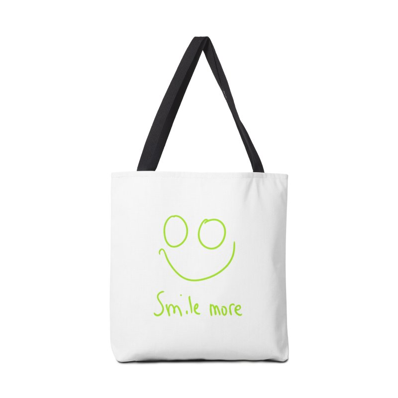 Smile More Accessories Tote Bag Bag by AdventGuard