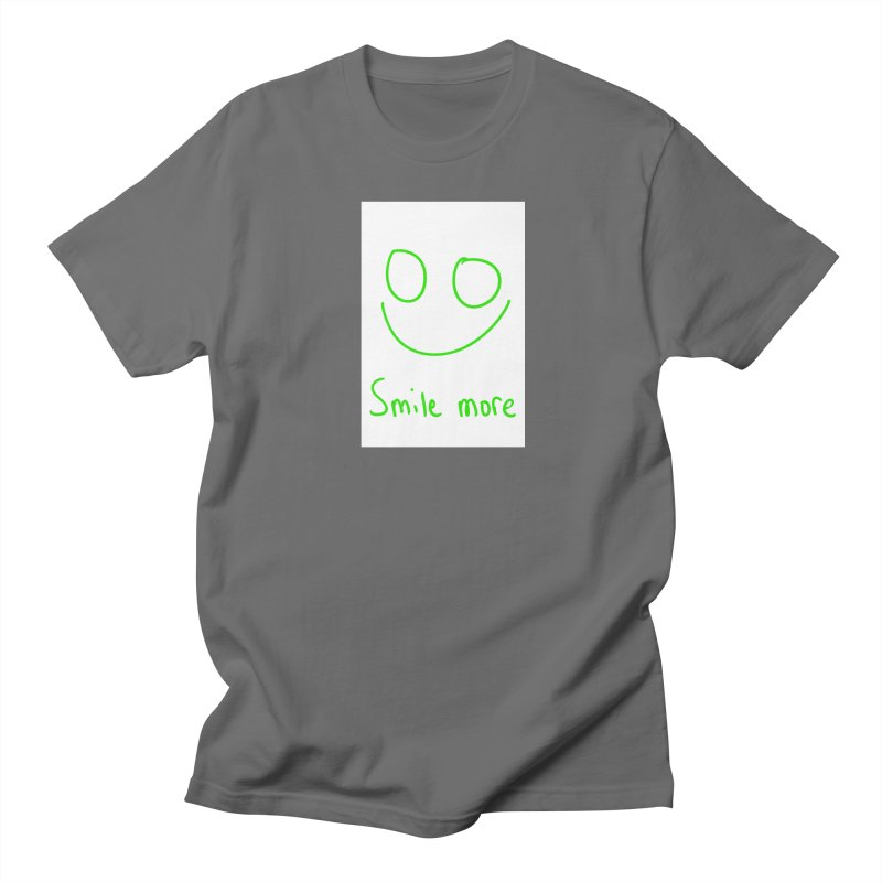 Smile more Men's T-Shirt by AdventGuard