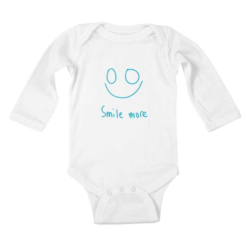 Smile more Kids Baby Longsleeve Bodysuit by AdventGuard