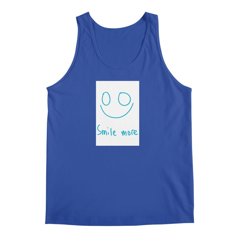 Smile more Men's Regular Tank by AdventGuard