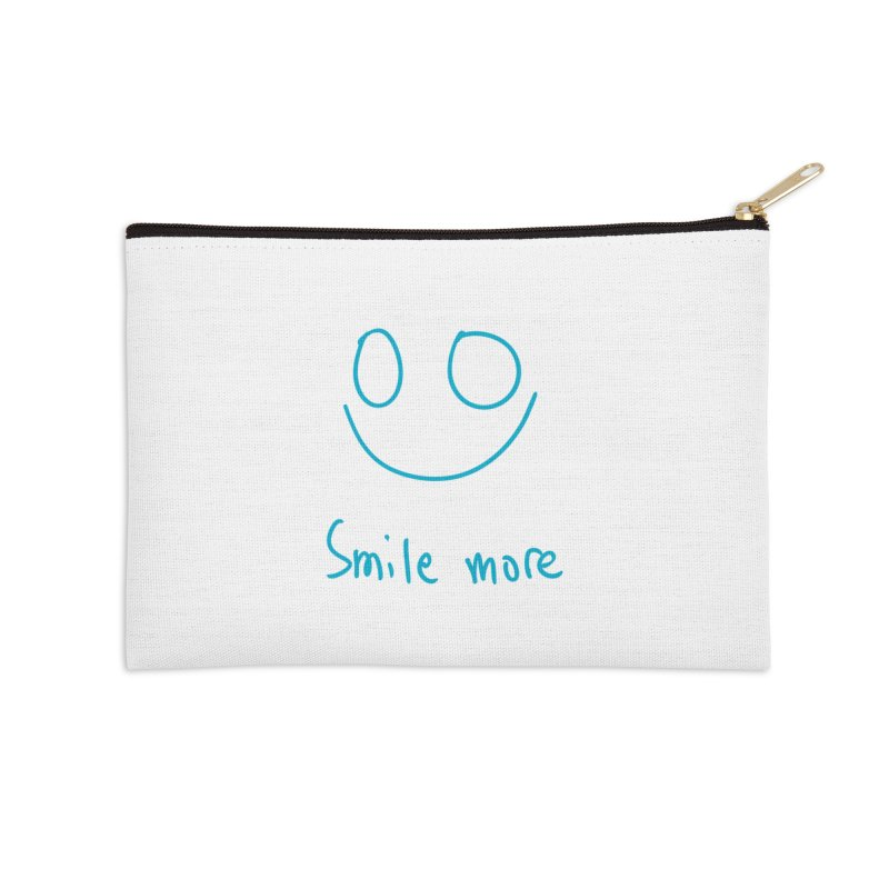 Smile more Accessories Zip Pouch by AdventGuard