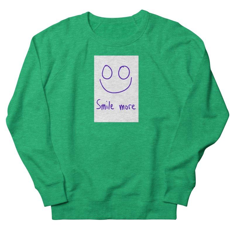 Smile more Women's Sweatshirt by AdventGuard