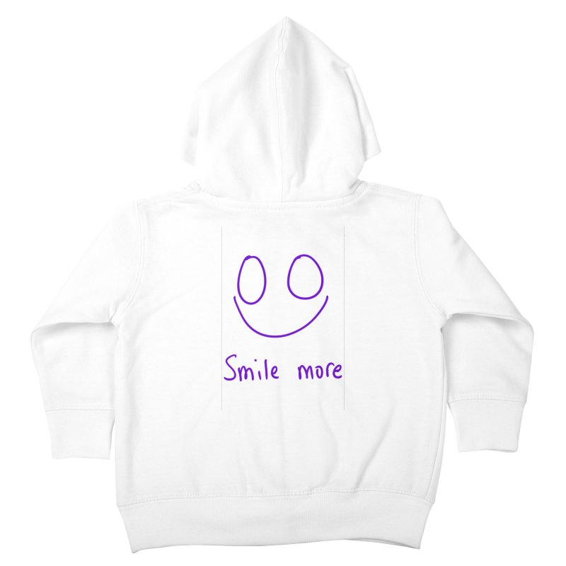 Smile more Kids Toddler Zip-Up Hoody by AdventGuard