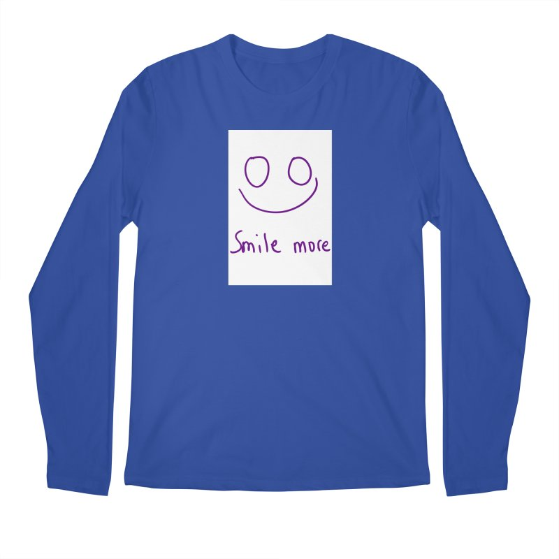 Smile more Men's Regular Longsleeve T-Shirt by AdventGuard