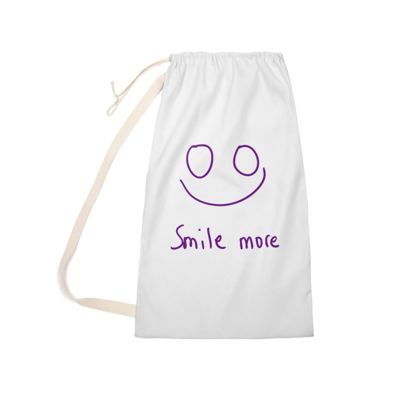 Smile more Accessories Laundry Bag Bag by AdventGuard