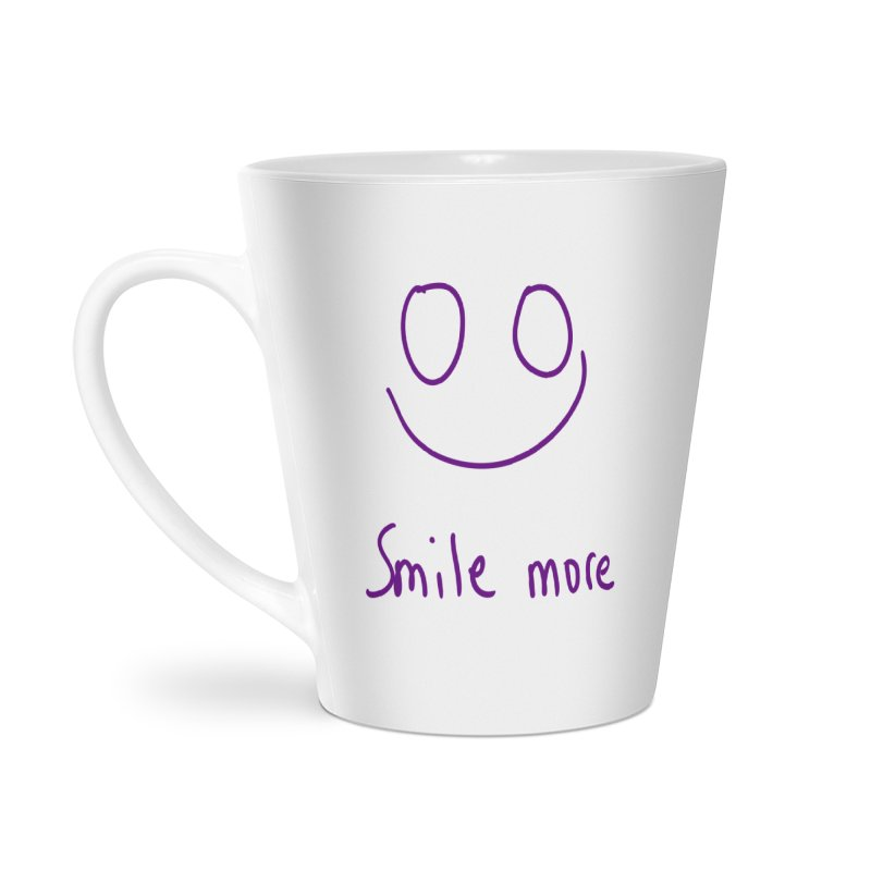 Smile more Accessories Latte Mug by AdventGuard