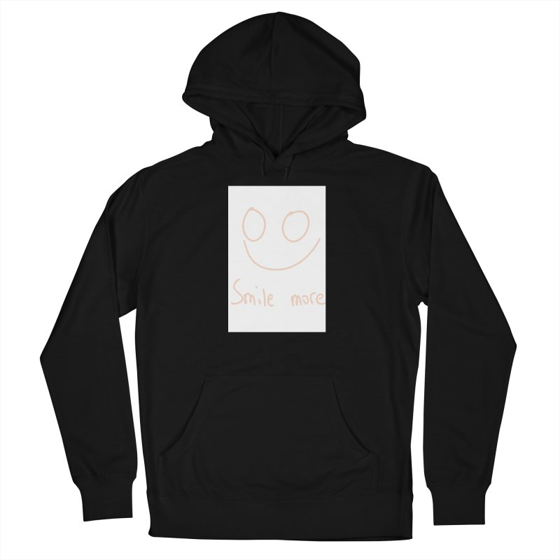 Smile more Women's French Terry Pullover Hoody by AdventGuard