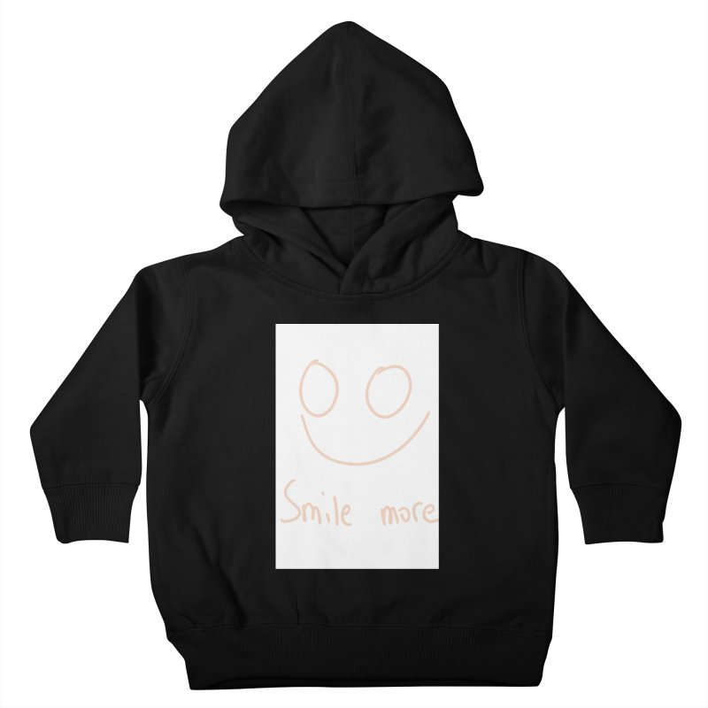 Smile more Kids Toddler Pullover Hoody by AdventGuard