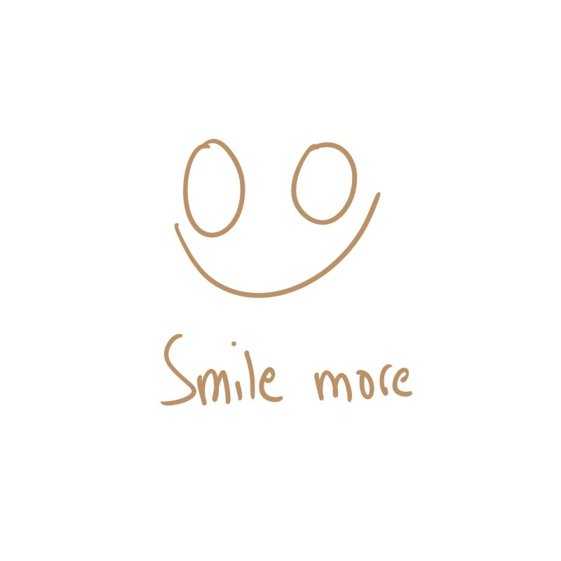 Smile more Accessories Notebook by AdventGuard